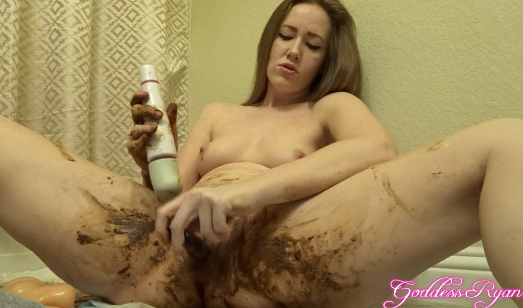 fecal-lybricant-for-masturbation-dirty-pussy-2