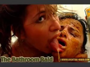 The Bathroom Raid – Messy Paula, Scatdoll [hightide-video]