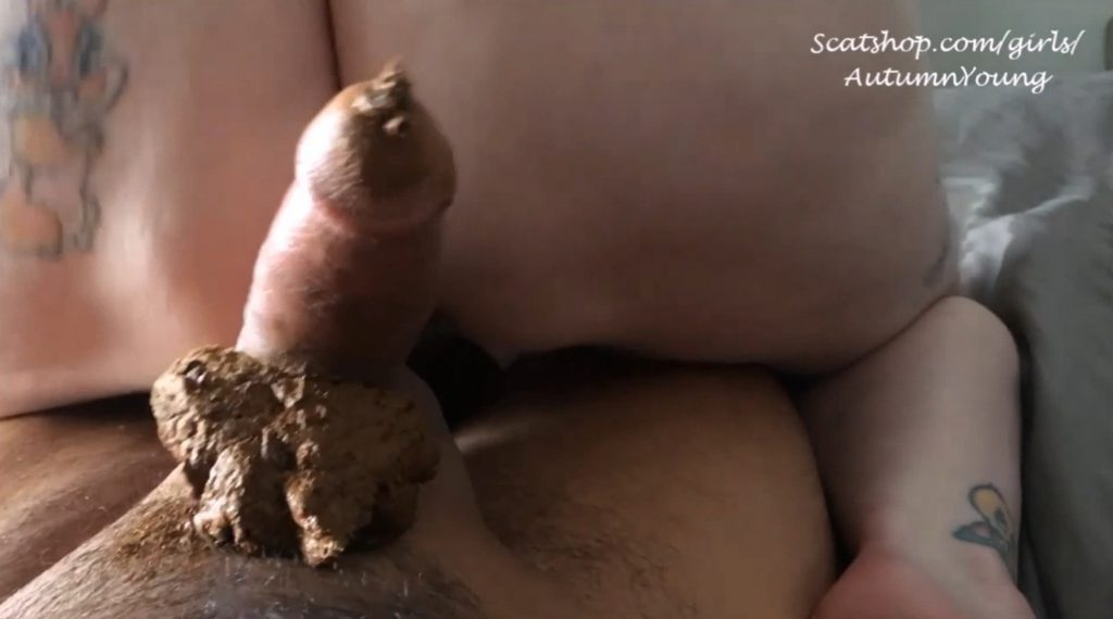 3 Pushing Grunting Shits Then Cum - Foot Fuck Dirty BJ Panty Poop (Part 4) - 3