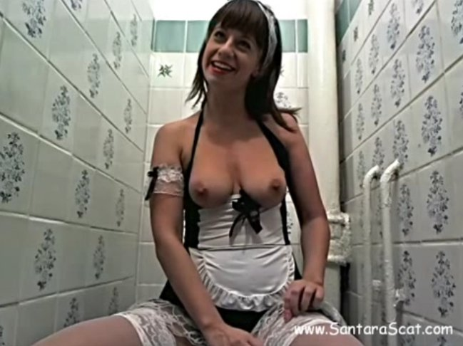 Filthy naughty maid-1