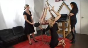 Scatqueens-Berlin.com – haenge schwein (Group, Female Domination with Copro)