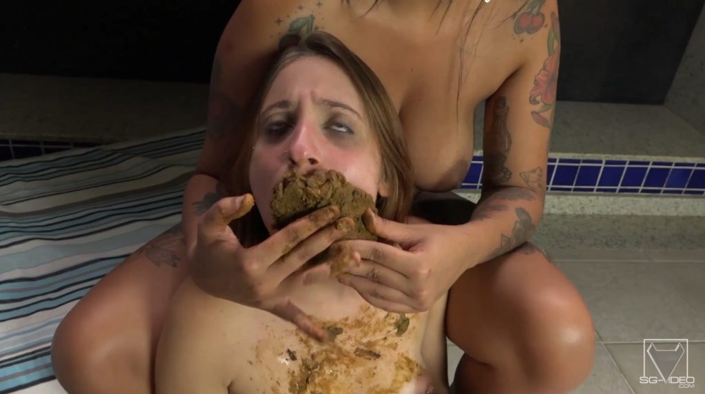Enormous Big Scat By Sophia Faber And Penelope - Take My Enormous Shit In Your Little Sweet Mouth - 5