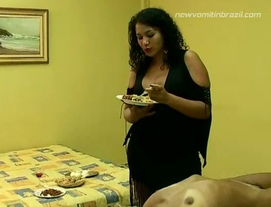 New Vomiting in Brazil - MFX-639-1 - Punishment vomiting on the face - 2