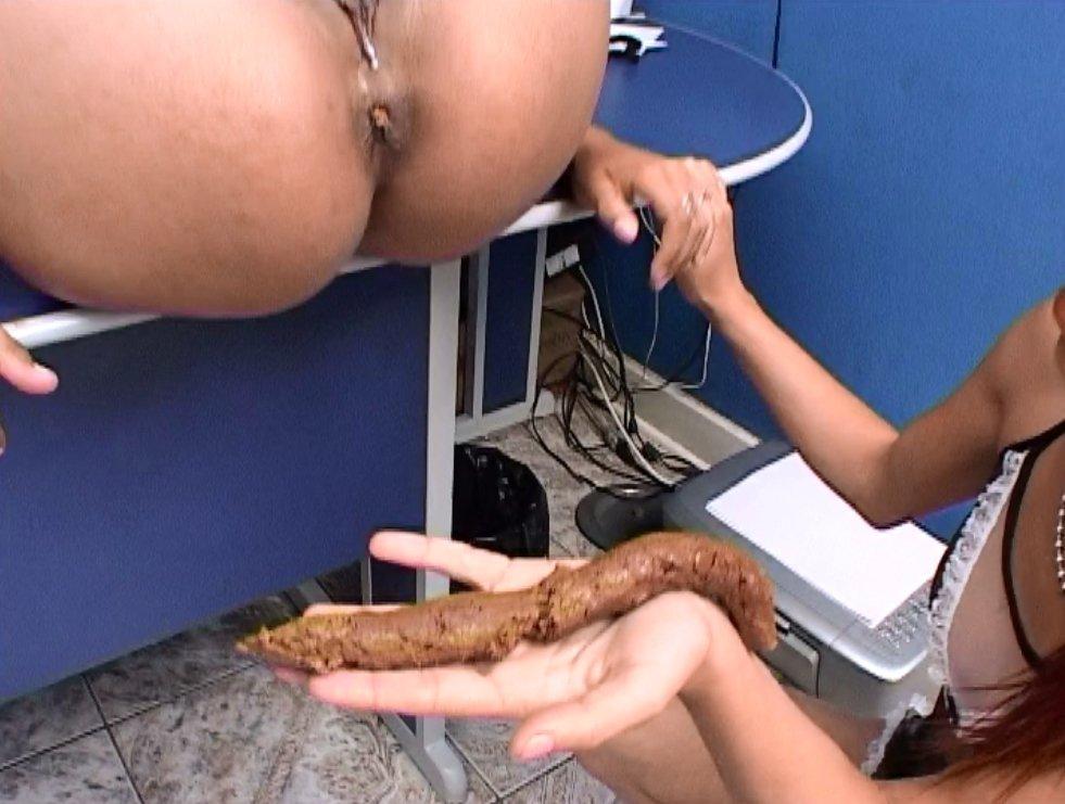 Scat Secretary Girls Jaquline,Roxana,Samantha,Ines - SG-Video - 3