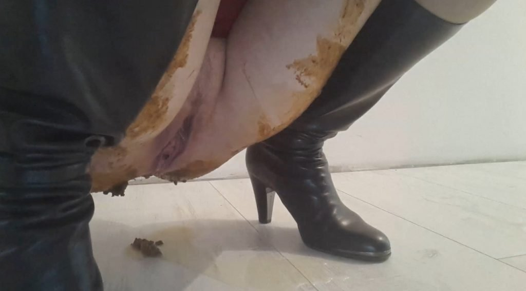 Thefartbabes – BOOTS PANTYHOSE DRESS POOP - 5