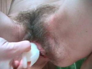A Very Hairy Gooey Creamy Pussy (Amateur)
