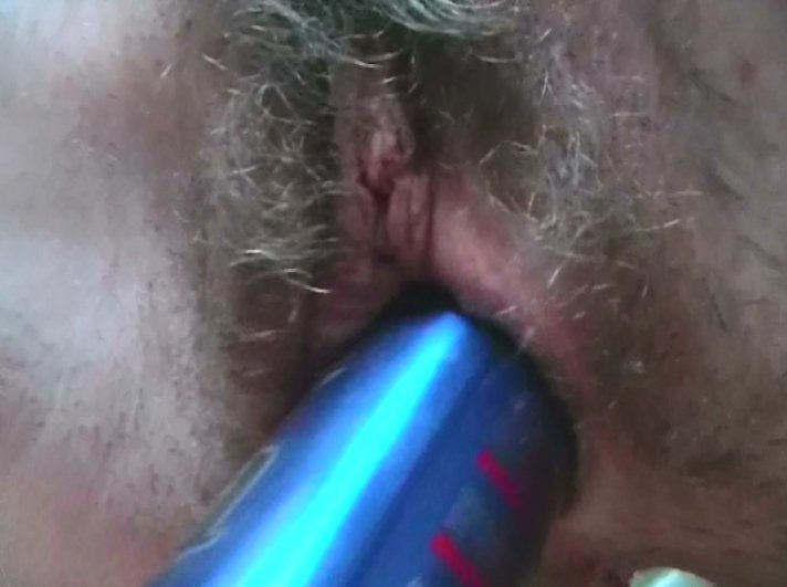 a very hairy gooey creamy pussy - 3