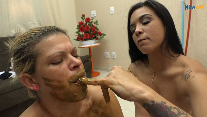 4k UHD - Shit Day With Chimeny, Diana and Mary Claire - 5