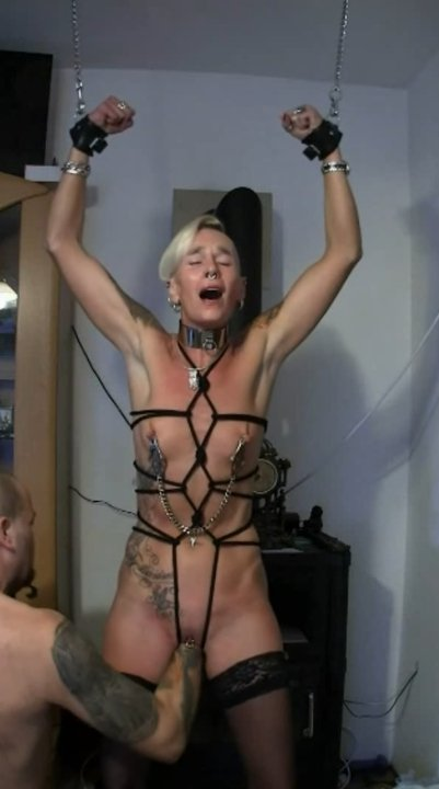 Getting spanked, fisted and beaten while cuffed (Lady-isabell666) - 5