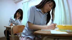 Schoolgirls lesbians scat play during the lesson – HD 720p (UNCENSORED)