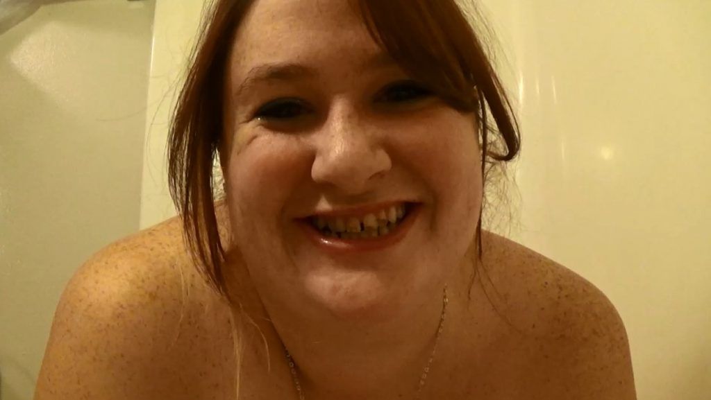BBW Samantha Starfish - poop in satin panties and dirty scat play - 3