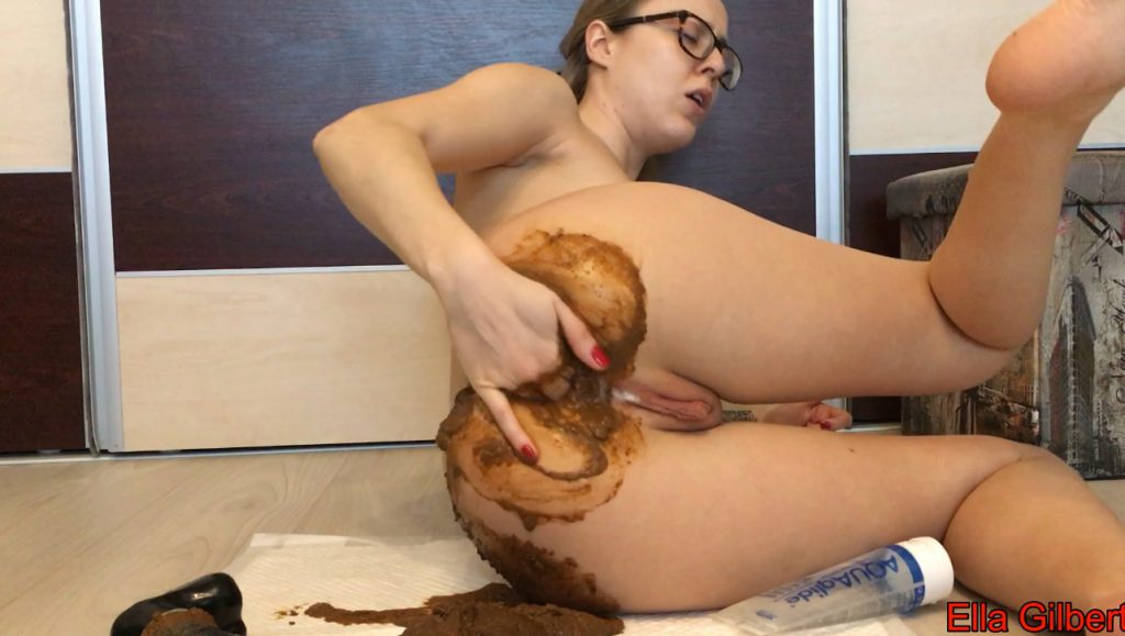 Huge Poop and Ass Fuck - EllaGilbert - Full HD 1080 (Scat Solo, Extreme Scat, Amateurs Scat) 6