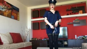 Josslyn Kane – Roleplay scat game dirty police officer