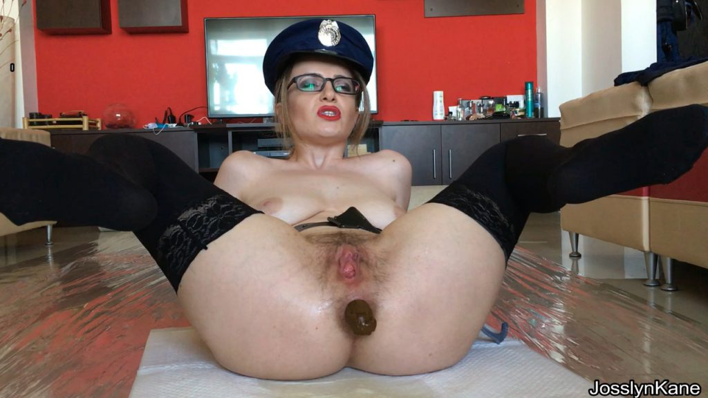 Josslyn Kane - Roleplay scat game dirty police officer - 3