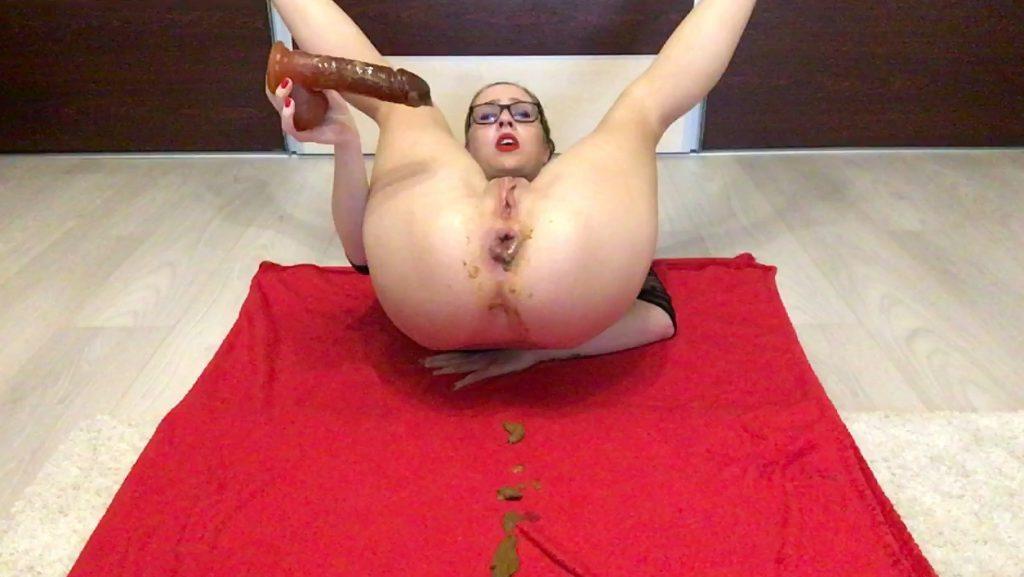 Some Random Dirty Ass Fuck - Ella Gilbert - HD 720p (Poop Videos, Scat Solo, New Scat) 5
