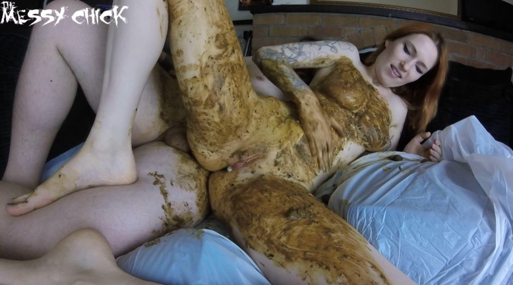 The Messy Chick - Anal scat pleasure - 5