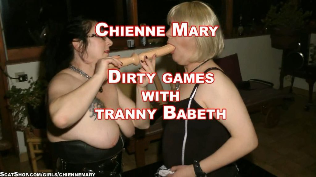 Chienne Mary - Dirty Games With Tranny Babeth - HD 720p 1