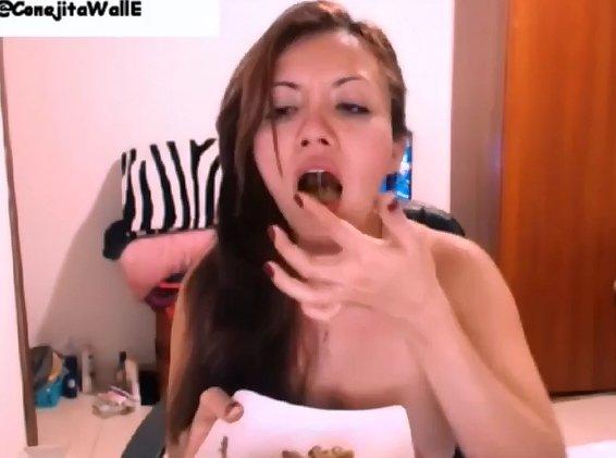 ConejitaWallE Second Scat Video - 3