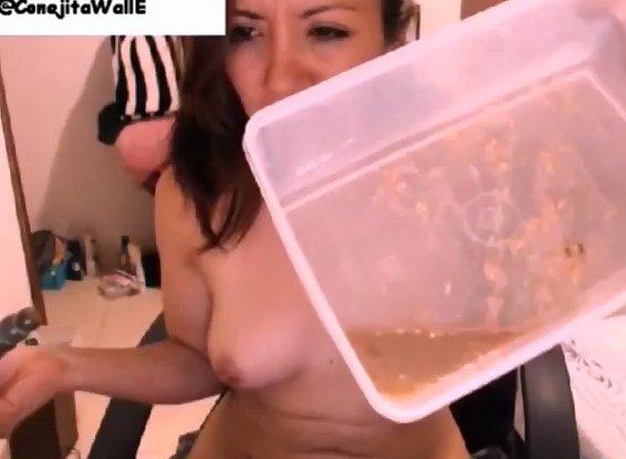 ConejitaWallE Second Scat Video - 5