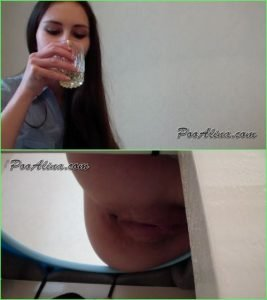 PooAlina – Alina Eats Strawberries And Pooping In Mouth Toilet Slave – Russian Scat