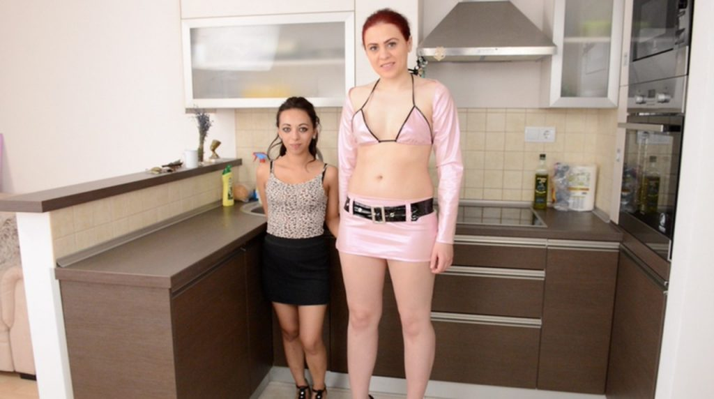 Scat Giant And Report - Big VS Small - By Roxana And Cashmere White 1