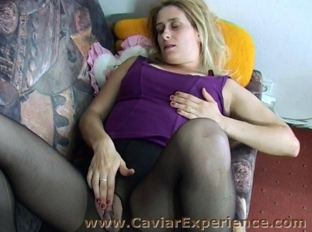 Sarah Filmentertainment - Caviar Experience.com - Second Scat video 1