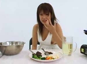 Two Asian Girls Cooking With Shit And Pee – Lesbo Scat Action