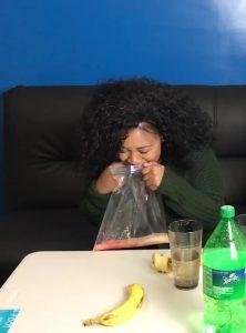 Banana Sprite Challenge – Girlfriend Vomits Crazy ! GROSS (FullHD-1080p)