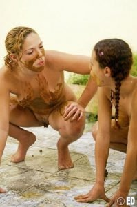 Lesbian Scat PHOTO Collection