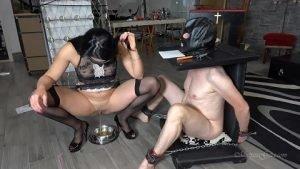 MistressGaia – TRAINING MY NEW TOILET SLAVE Pt 3 (Italian Scat Domination, Full HD 1080p)