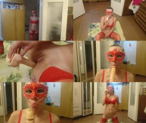 Brown wife – Lady in red (FULL-HD)