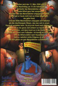 Avantgarde Extreme 14 – Mjamm Mjamm, das Marsmädchen (Mègane & Ricki Tzatzicki, Pipi)