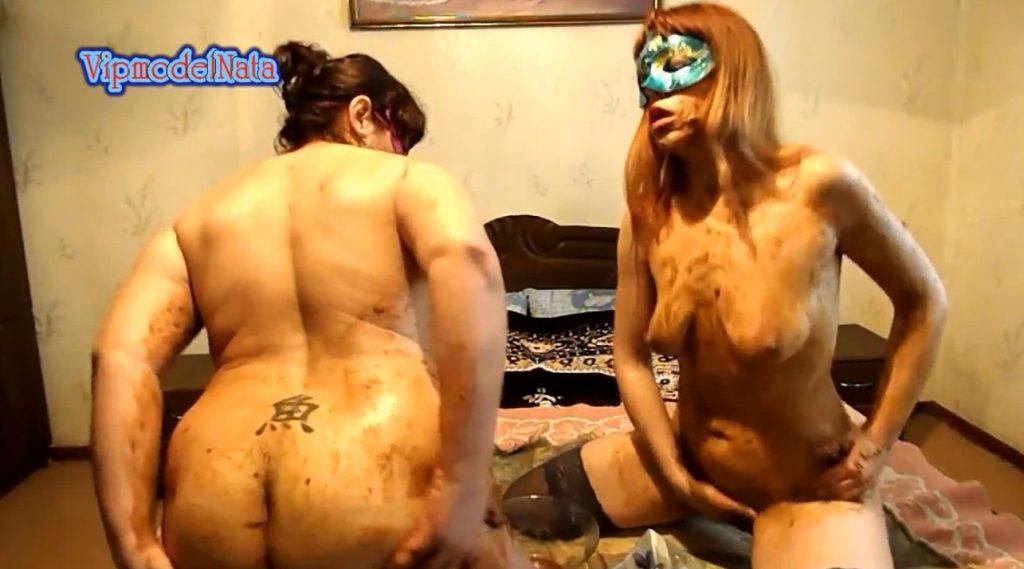 Lesbians smeared shit (ModelNatalya94) Image 3