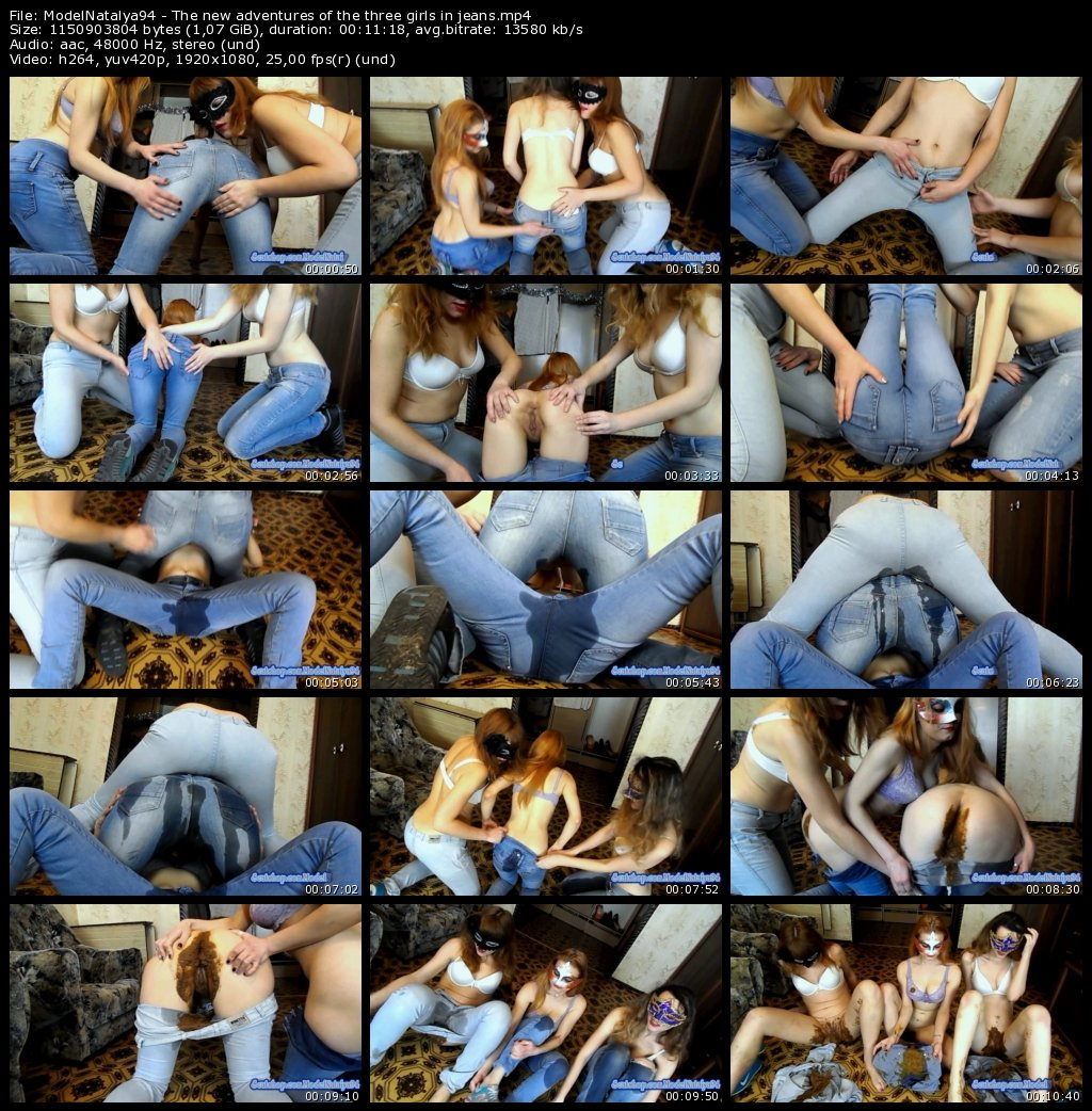 DOWNLOAD The new adventures of the three girls in jeans (ModelNatalya94)