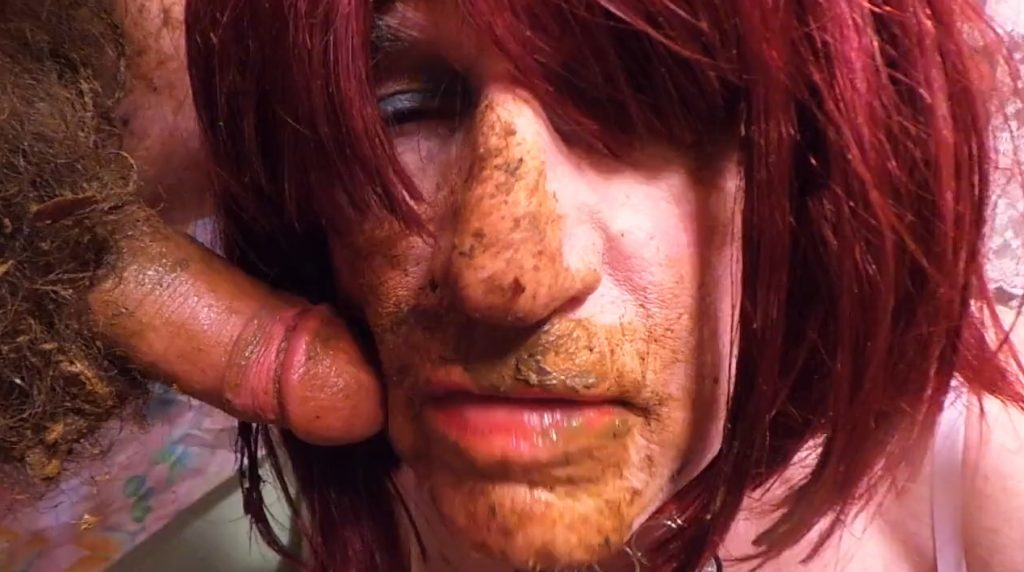 Scat Cum Tranny Whore - For Shemales Scat Lovers Only (HD-720p) Image 4