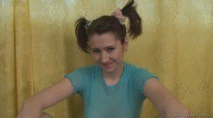 Second scat video with russian shit loving girl (Krasnova)