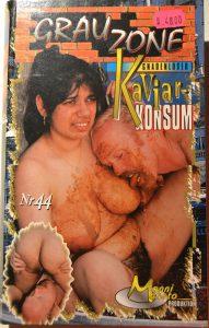 Grauzone 44 – Gnadenloser Kaviar-Konsum (VHS-RIP) True Scat Rare