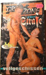 Grauzone 51 – Zur Strafe vollgeschissen (VHS-RIP) RARE SCAT