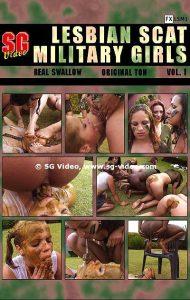 Lesbian Scat Military Girls Vol.1 (Full Movie)