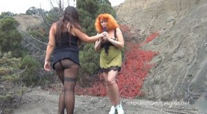 LesbianScatGirls.net – Nadia and her girlfriend try pooping outdoors (MILFS Scat – HD 720p)