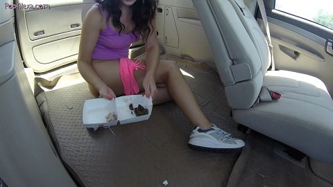 Bad Girl Poops In The Car - Image 5