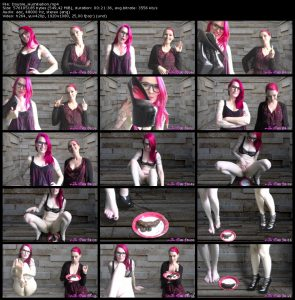 TheMessyChick.co.uk – Scat Sites Rips Week (26 Videos with Mia)