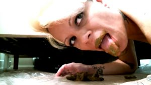 First taste filthiest whore alive – special for www.scatlesbians.com™